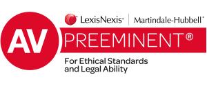 Lexis Nexis Martindale-Hubbell AV Preeminent Rating